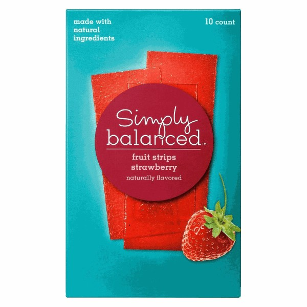 Simply Balanced Fruit Snacks product image