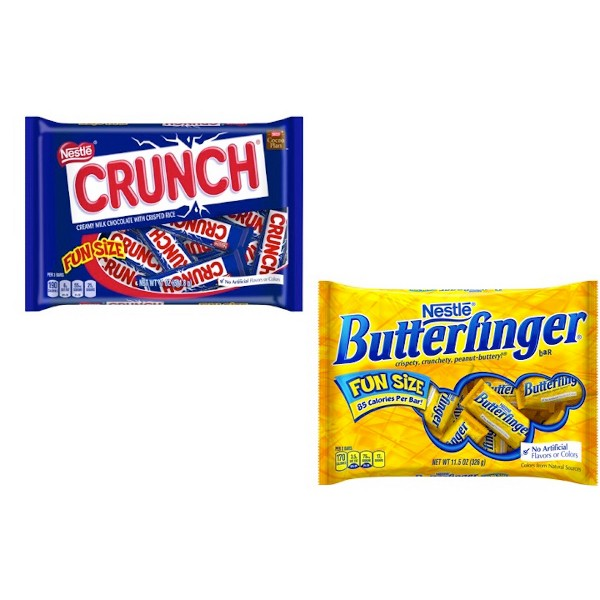 Nestlé Crunch and Butterfinger product image