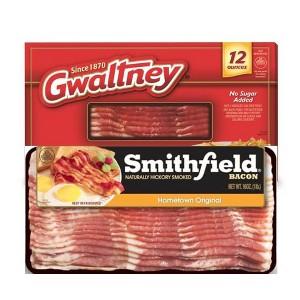 Smithfield and Gwaltney Bacon