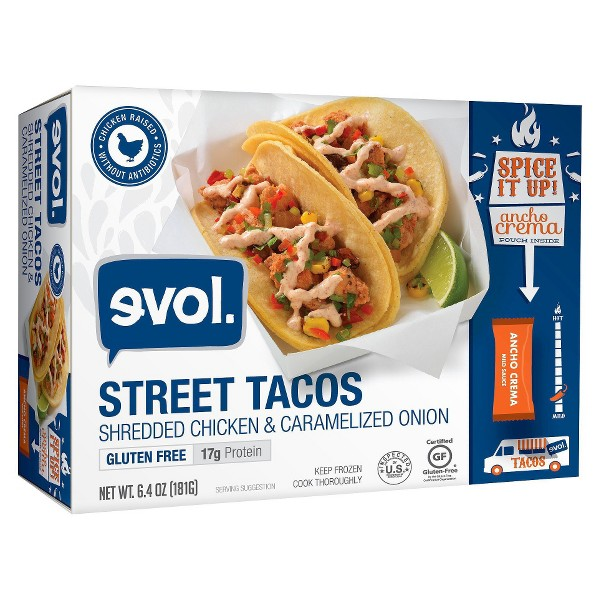 EVOL Frozen Street Tacos product image