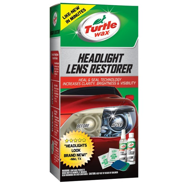 Turtle Wax Headlight Lens Restorer product image
