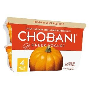 Chobani Pumpkin 4-Packs