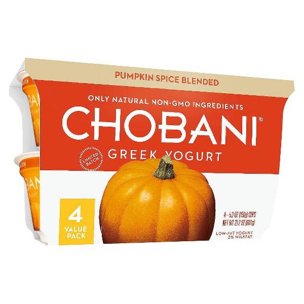 Chobani Pumpkin 4-Packs product image