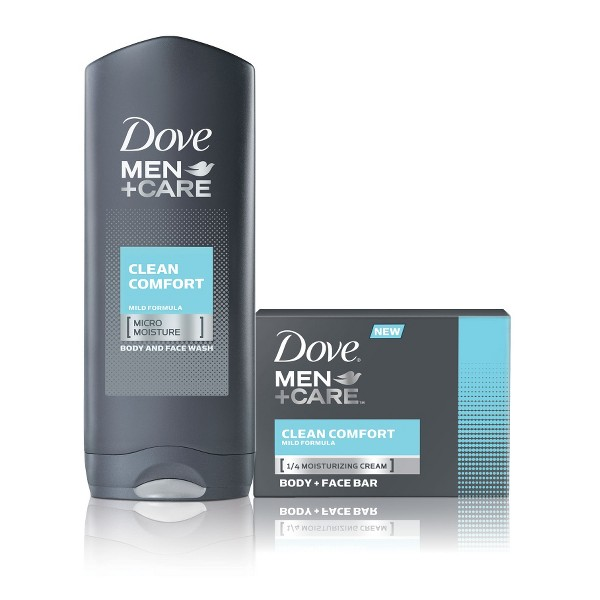 Dove Men+Care Bar and Body Wash product image