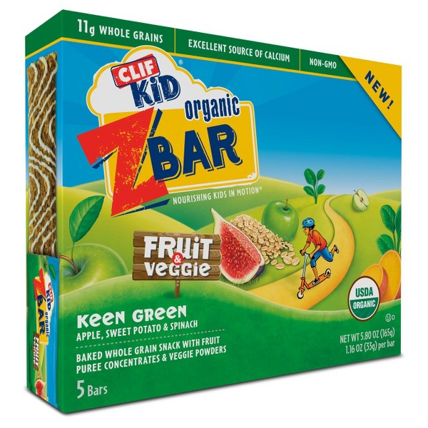 Clif Kid Zbar Fruit & Veggie Bars product image