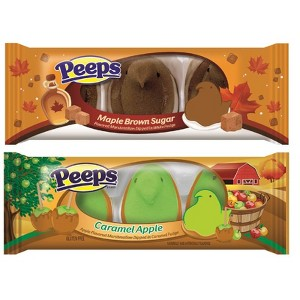 Peeps Fall Flavor Dipped Chicks