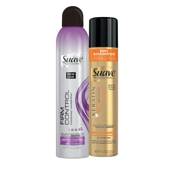 Suave Stylers and Dry Shampoo product image