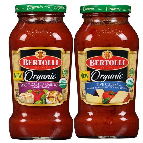 Bertolli Organic Pasta Sauces product image