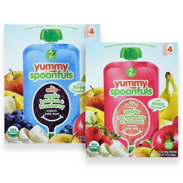 Yummy Spoonfuls Baby Food 4 Packs product image