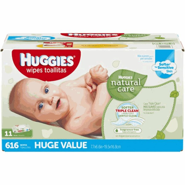 Huggies Wipes 552-ct & Larger product image
