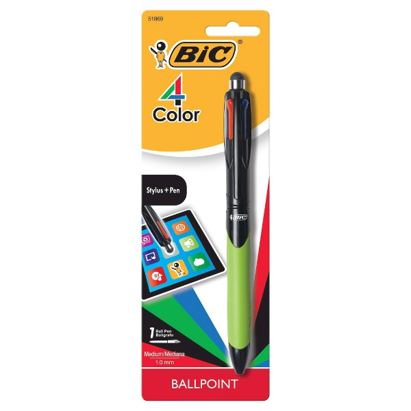 BIC 4-Color Stylus Ball Pen product image