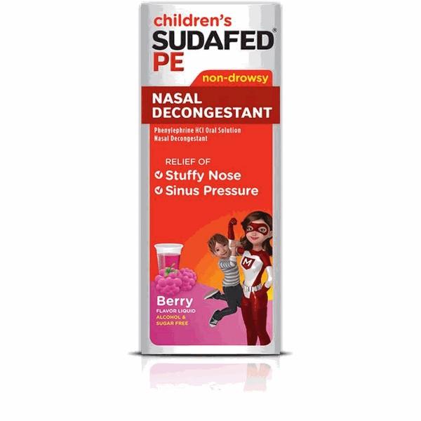 Children's Sudafed product image