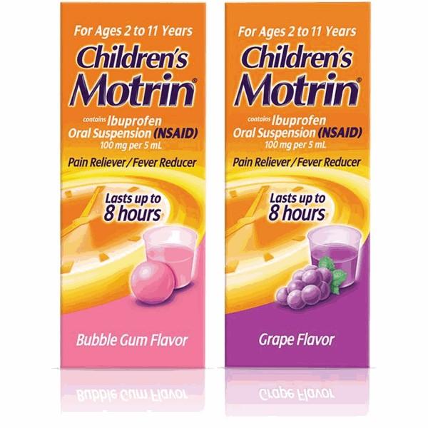 Children's or Infants' Motrin product image