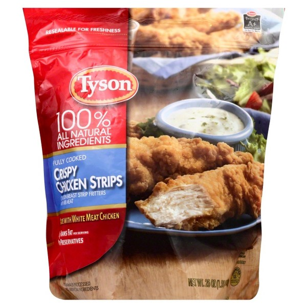 Tyson Chicken Strips & Nuggets product image