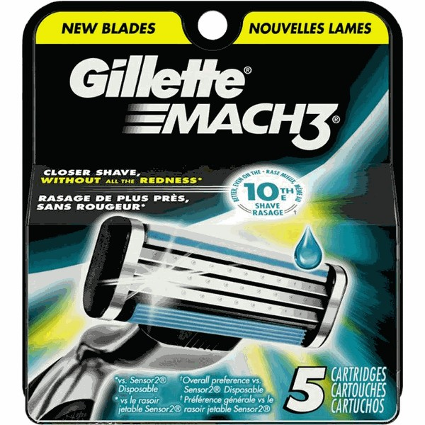Gillette MACH Cartridge Refills product image