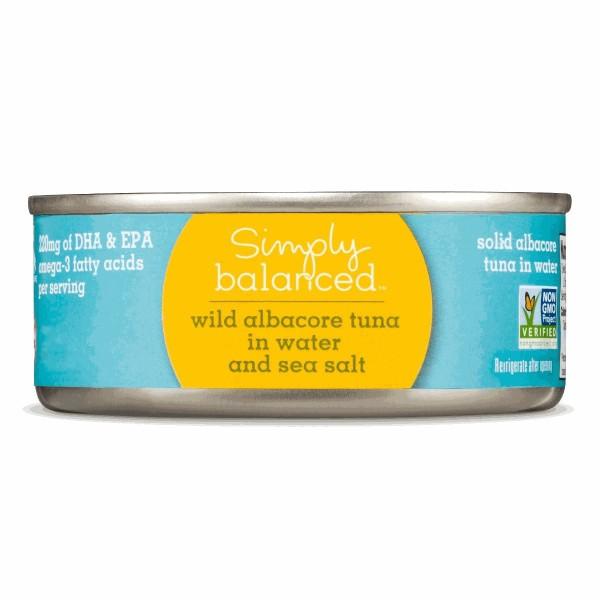 Simply Balanced Canned Tuna product image