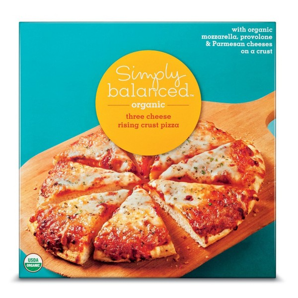 Simply Balanced Frozen Pizza product image