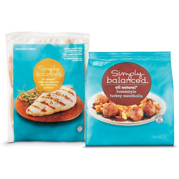 Simply Balanced Frozen Poultry product image