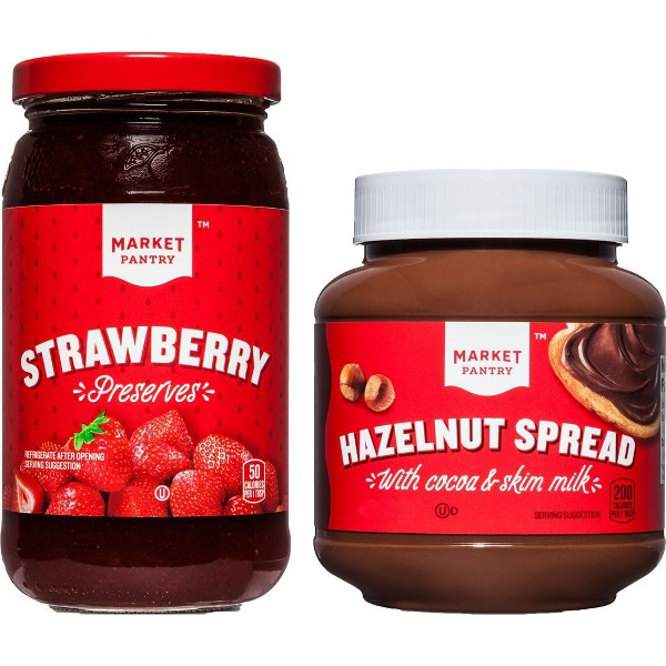 Market Pantry Peanut Butter/Jelly product image