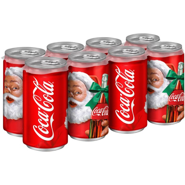 Coca-Cola 8-Pack 7.5 oz Mini Cans product image