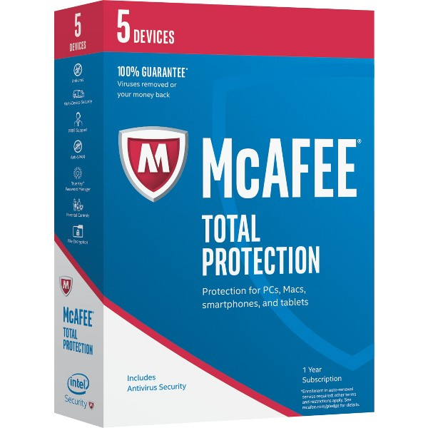 McAfee 2017 Total Protection product image