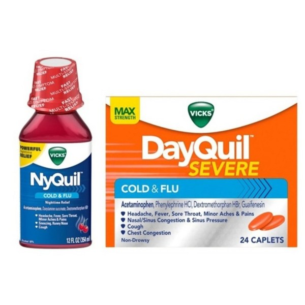 DayQuil, NyQuil & ZzzQuil product image