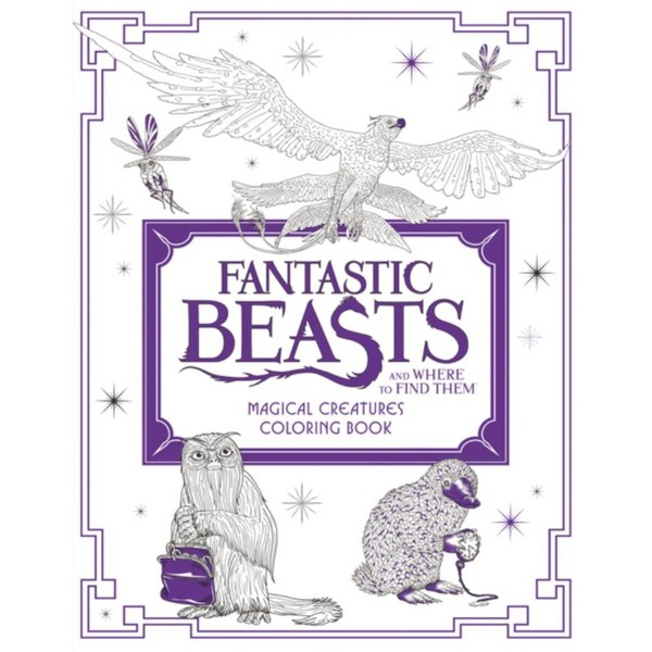 Magical Creatures Coloring Book product image