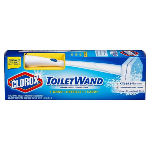 Clorox Toilet Wand & Refills product image