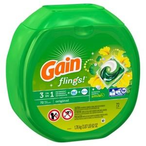 Gain Flings Laundry Pacs
