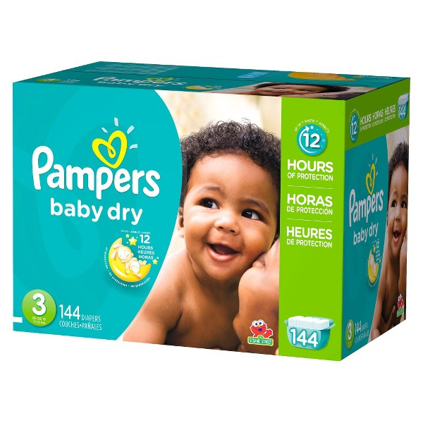 Pampers Baby Dry Diapers product image