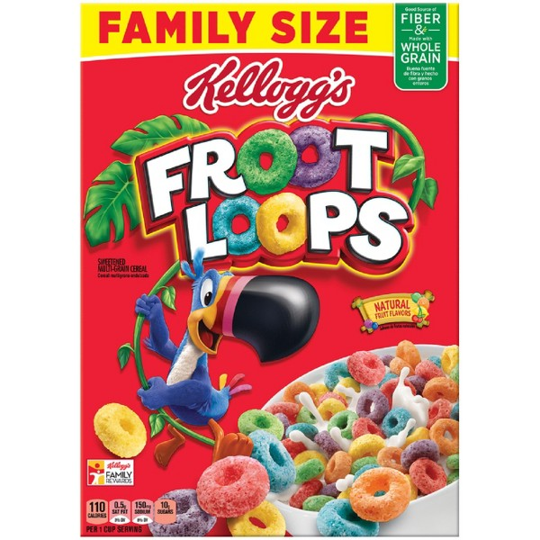 Kellogg's Froot Loops Cereal product image