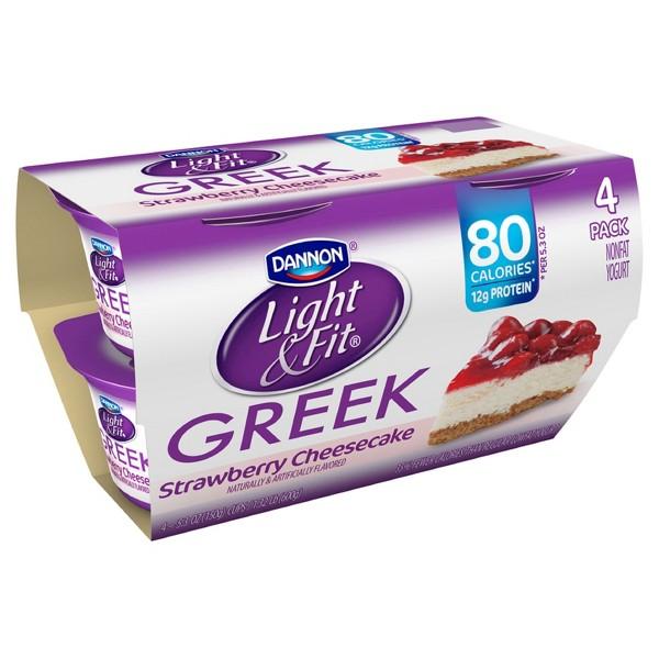 Dannon Light & Fit Greek Yogurt product image