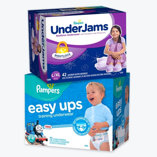 Pampers Easy Ups & Underjams product image