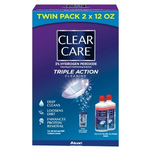 Clear Care Contact Lens Solution