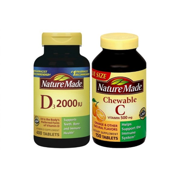Nature Made Vitamin C & D product image