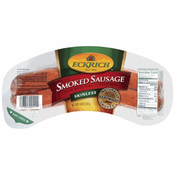 Eckrich Smoked Sausage product image