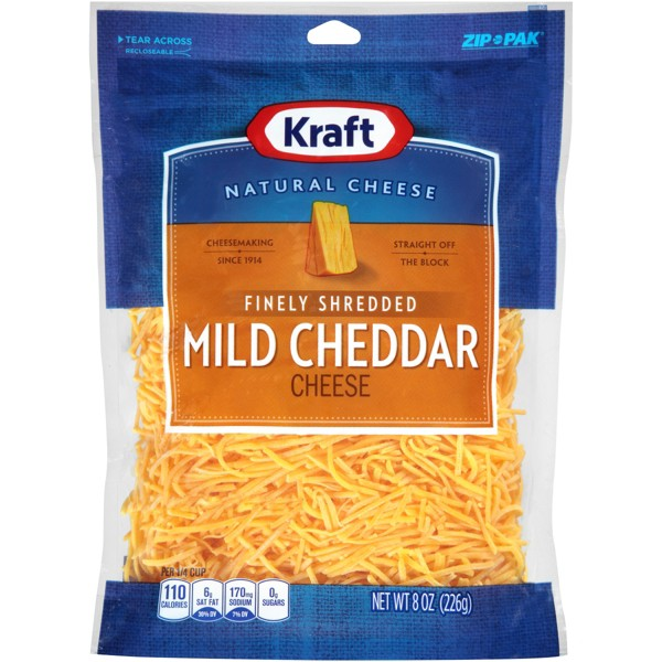 Kraft Natural Shredded Cheese product image