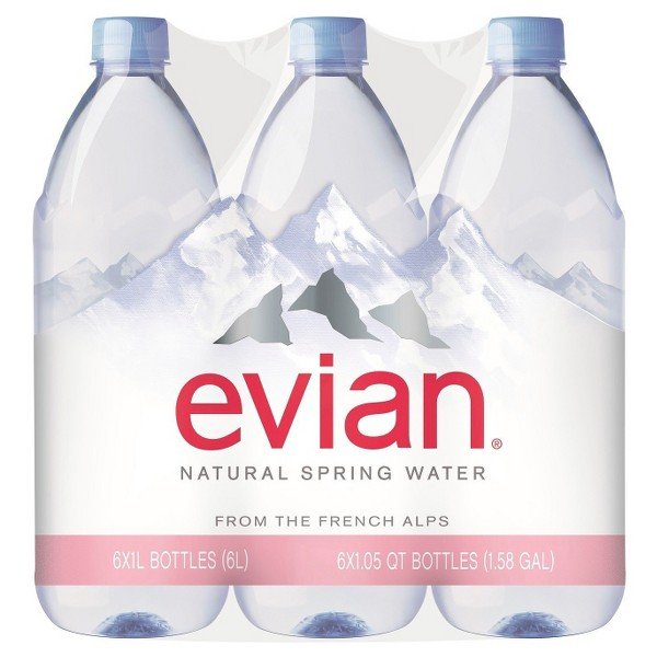 Evian 1L Water product image
