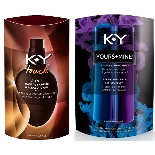 KY Yours+Mine & Touch product image