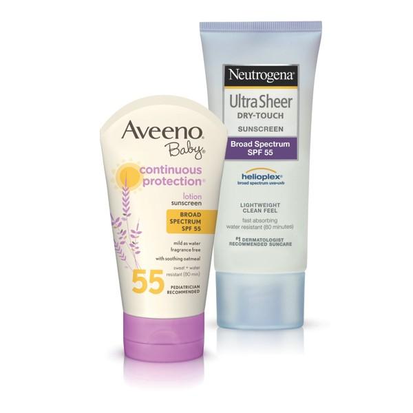 Neutrogena & Aveeno Sun Protection product image