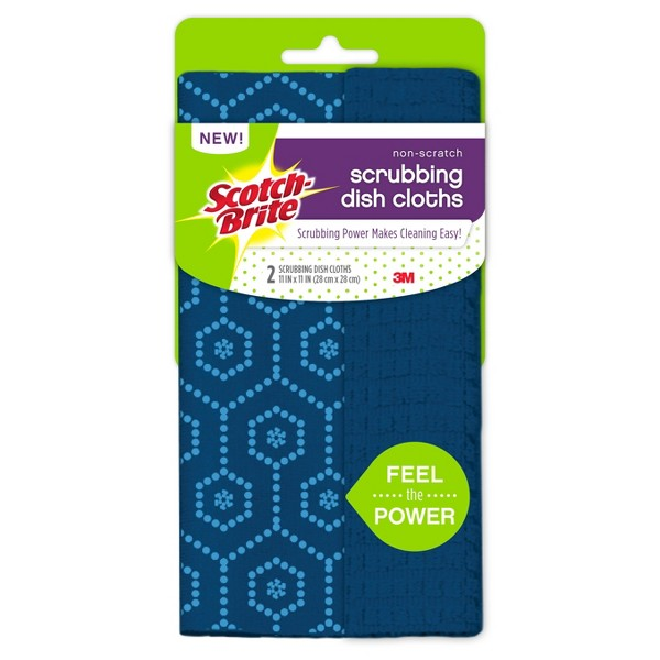 Scotch-Brite Scrubbing Dishcloths product image
