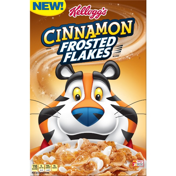 NEW Cinnamon Frosted Flakes product image
