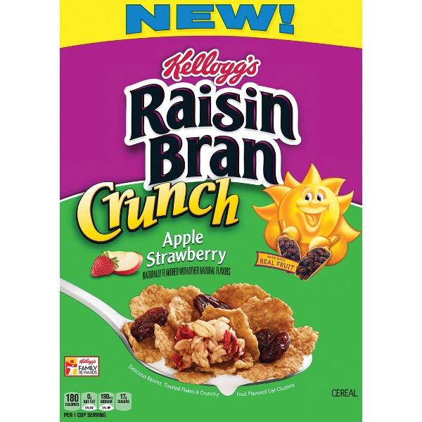 Raisin Bran Crunch AppleStrawberry product image