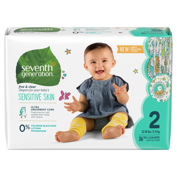 Seventh Generation Diapers product image