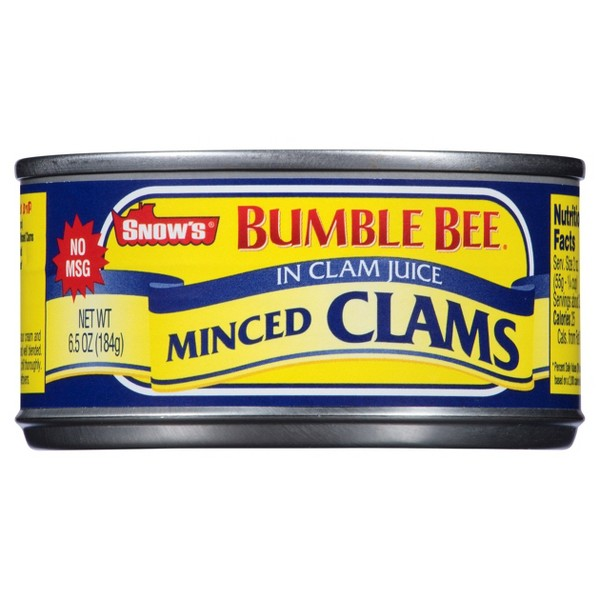 Snows Chopped & Minced Clams product image