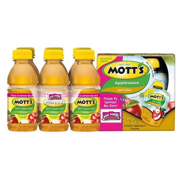 Mott's Applesauce & Juice Packs product image