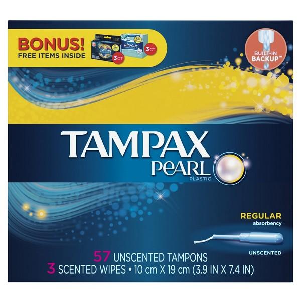 Tampax 50-60ct. Bonus Packs product image