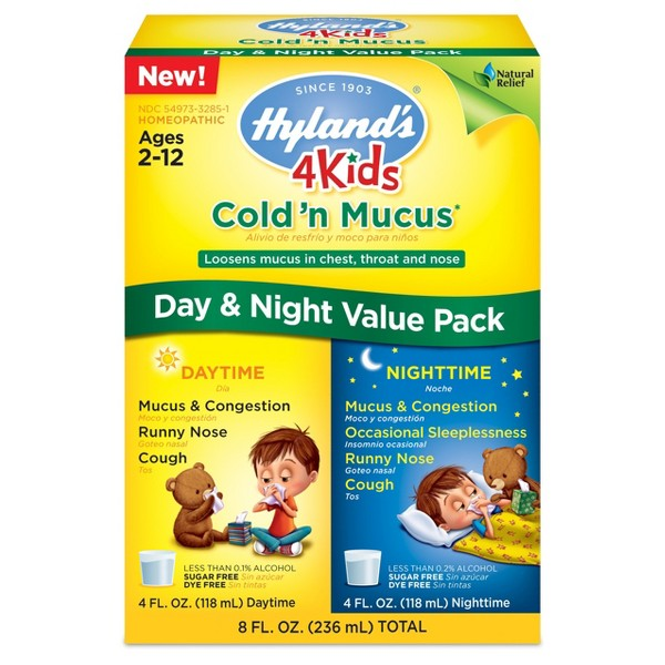 Hyland's 4Kids Cold Value Packs product image