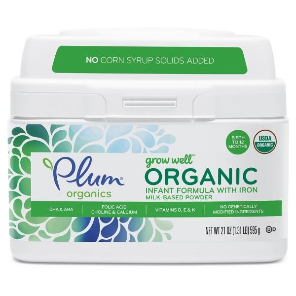 Plum Organics  Baby Formula product image