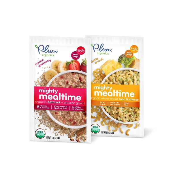 Plum Organics Mighty Mealtime product image